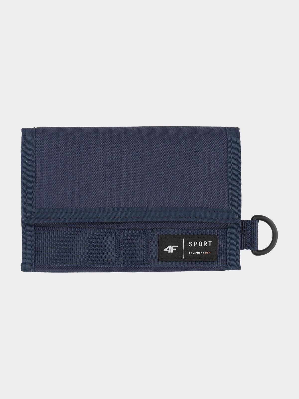 Materiálová peňaženka na suchý zips