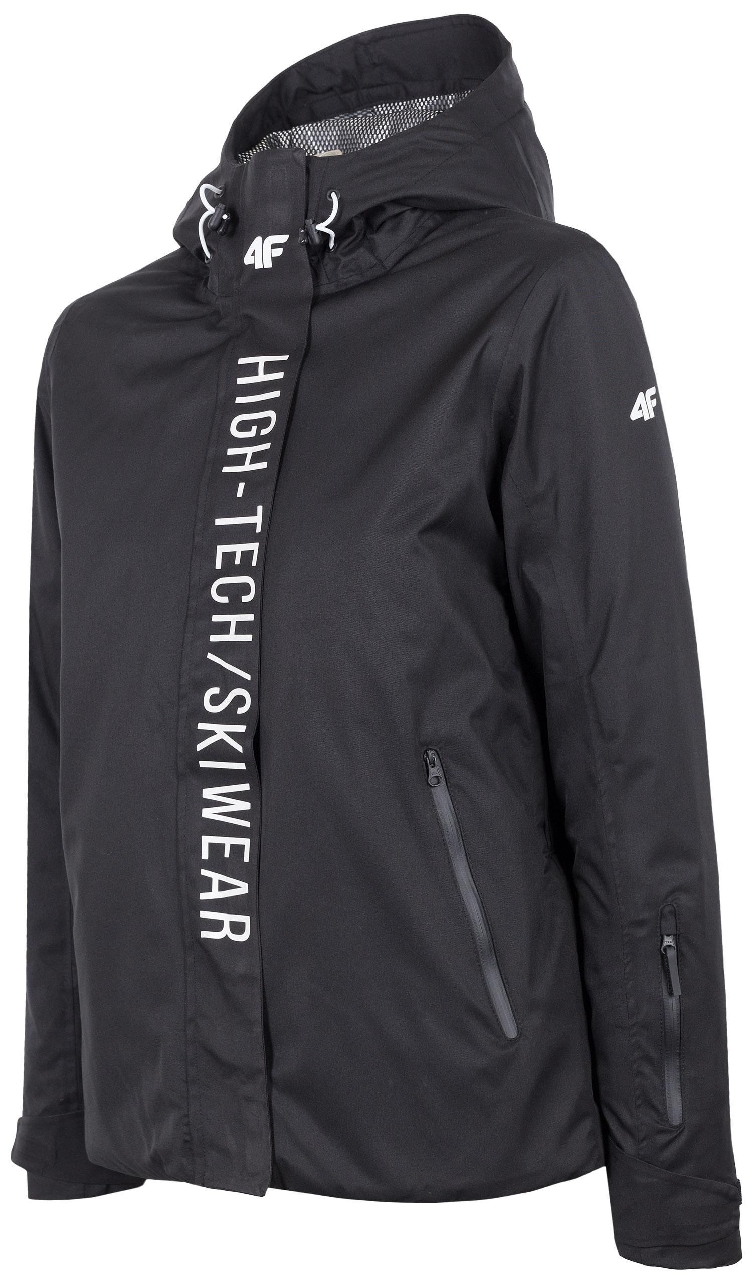 43334ed5d4df Dámska lyžiarska bunda KUDN162 - čierna