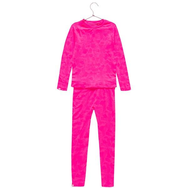 bbfd44fc7 Bezšvové termoprádlo (horná+spodná časť) pre staršie deti (dievčatá)  JBIDB400 – fuksiová