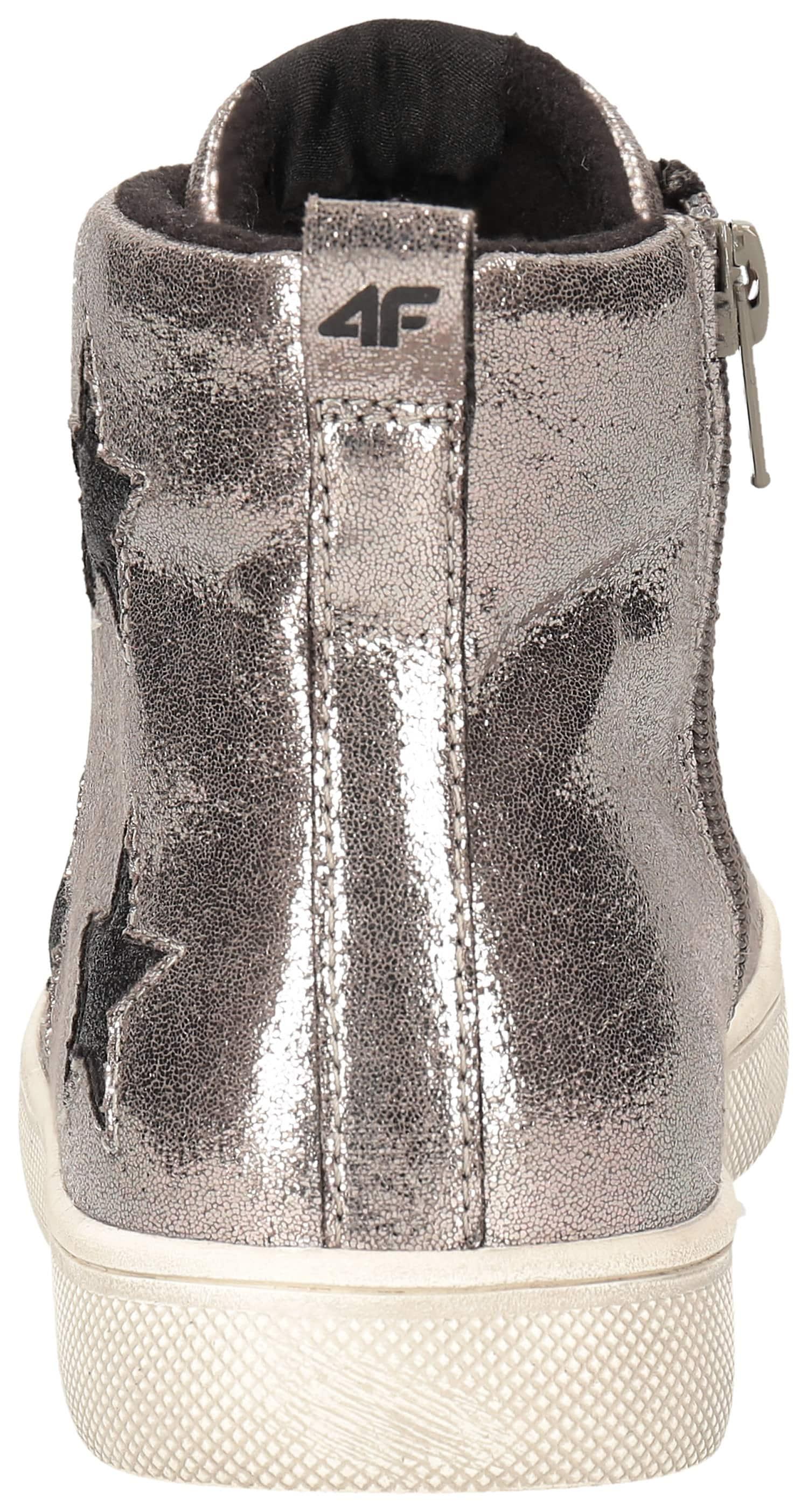0a8bbc6b5 Jesenné topánky pre staršie deti (dievčatá) JOBDA200 – strieborná