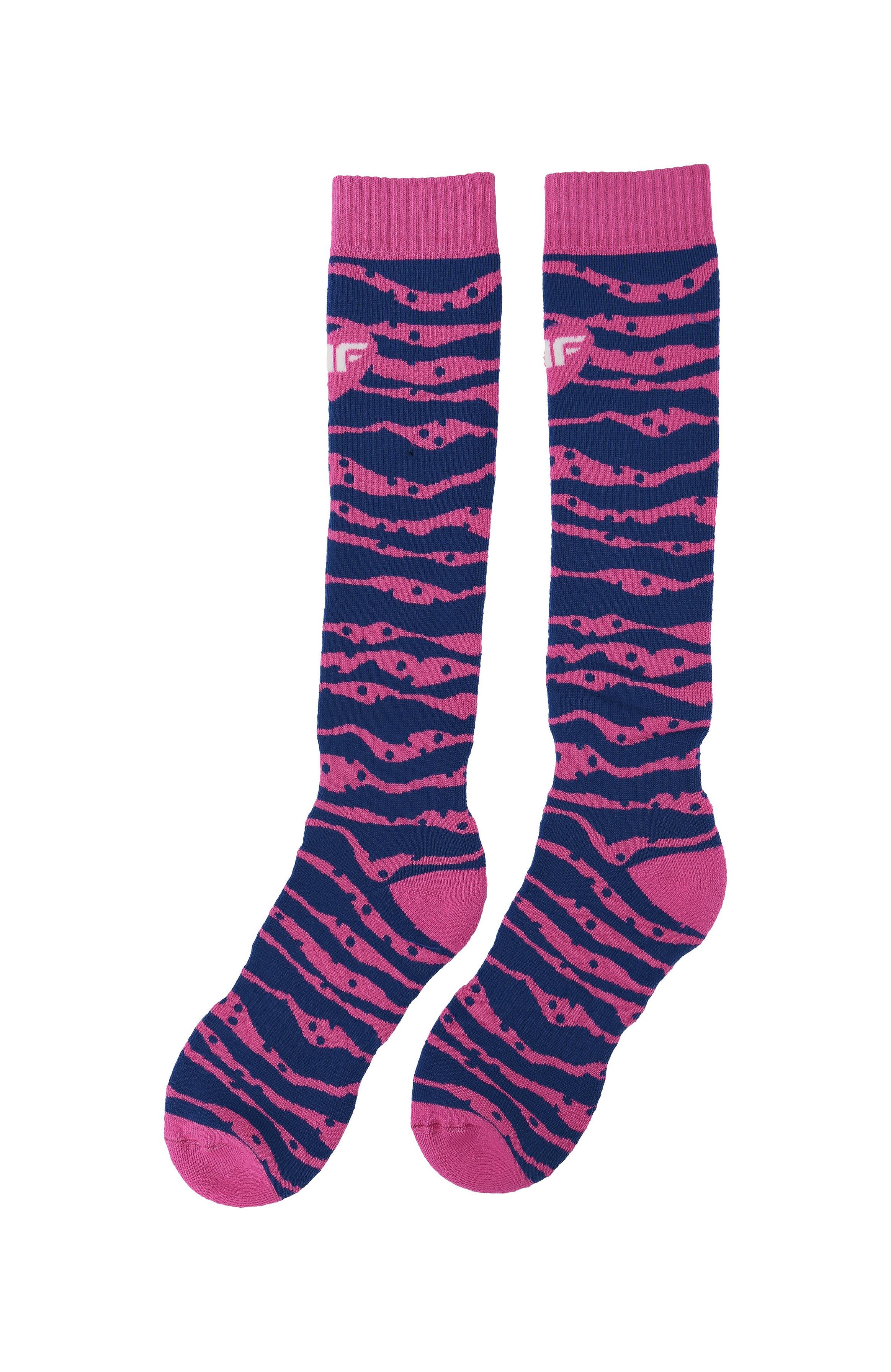 5ab51cc78 Lyžiarske ponožky pre staršie deti (dievčatá) JSODN400 – fuksiová