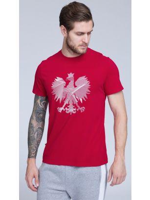 Koszulka kibica męska TSM500 - czerwony
