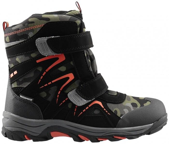 f076a4673 Zimné topánky pre staršie deti (chlapcov) JOBMW403 – multifarebná