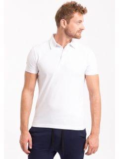 Pánske polo tričko TSM050 - biela