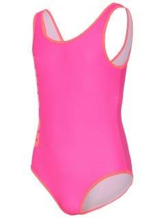 Plavky pre mladšie dievčatká jkos300 - fuksia