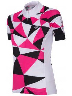 Dámske bicyklové tričko RKD153 - ružová