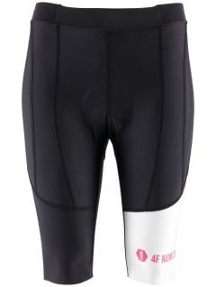 Dámske cyklistické kraťasy RSD150 - čierna