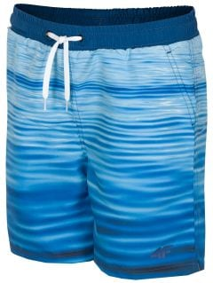 Plavky pre starších chlapcov JMAJM210 - modrá