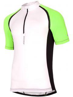 pánske cyklistické tričko rkm002 - biela