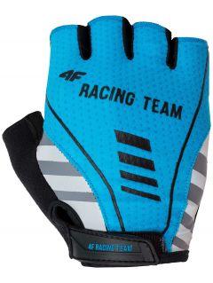 Cyklistické rukavice uniseks  RRU204 - modrá