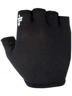 Cyklistické rukavice RRU001 - čierna