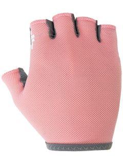 Cyklistické rukavice RRU001 - ružová lososová