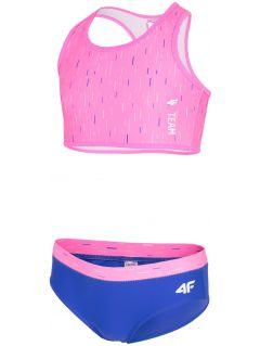 Plavky pre mladšie dievčatká jkos103 - ružová