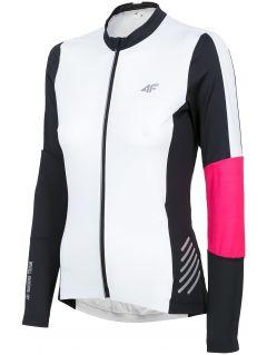 Cyklistické dámske tričko rkd150 - biela