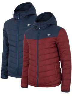 B4ZPánska zimná bunda KUM054 - tmavomodrá17-KUM054-60