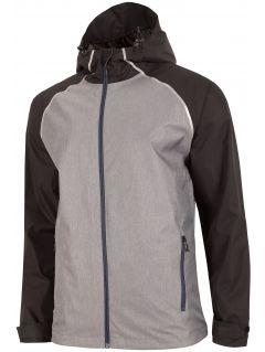 Pánska bunda KUM201 - šedá melanž
