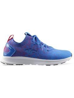 Dámske športové topánky OBDS300 - kobaltová modrá melanž