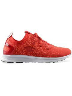 Dámske športové topánky OBDS300 - červená melanž