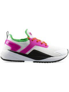 Dámske športové topánky OBDS302 – špinavá biela
