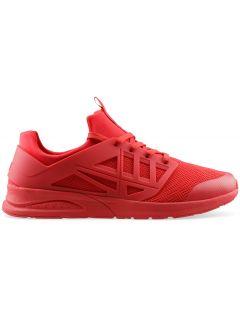 Pánske lifestylové topánky OBML202 – tmavočervená