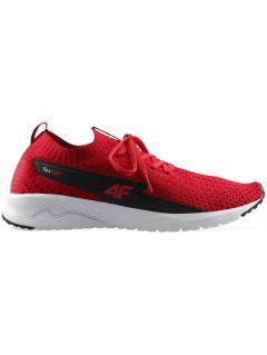 Pánske športové topánky OBMS300 – červená