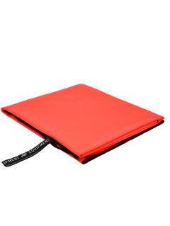 Športový uterák RECU200B – červená neónová