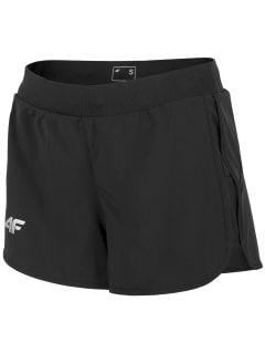 Dámske funkčné šortky SKDF100 - hlboko čierna