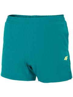 Pánske funkčné šortky SKMF200 - morská zelená