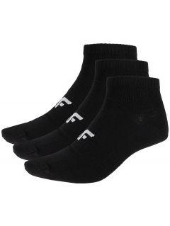 Pánske ponožky (3 páry) SOM302 - čierna+čierna+čierna
