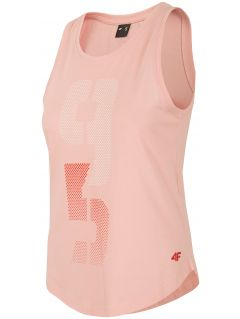 d0ab88cea0a0 Dámske tričká bez rukávov - športové tričko bez rukávov pre ženy - 4F
