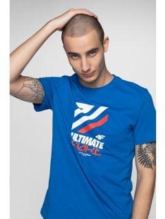 Pánske tričko TSM226 - kobaltová modrá