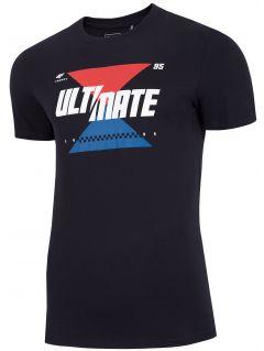 Pánske tričko TSM227 - tmavomodrá