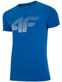 Pánske tričko TSM312 - modrá 958a254f5c1