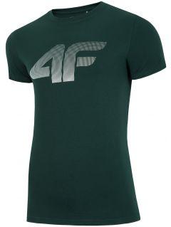 Pánske tričko TSM312 - tmavozelená