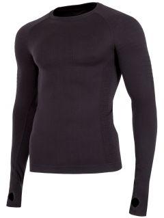 Pánske bezšvové prádlo (horná časť) BIMB260G – čierna