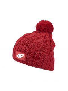 Dámska čiapka  CAD152 – červená