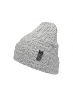 Pánska čiapka CAM252 – šedá melanž