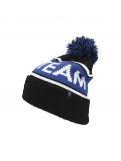 Pánska čiapka CAM257 - kobaltová modrá