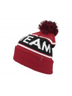Pánska čiapka CAM257 - červená