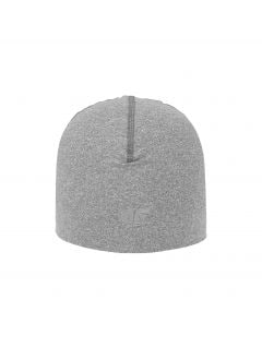 Tréningová čiapka unisex CAU200 - stredne šedá melanž