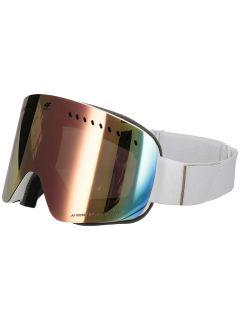 Dámske lyžiarske okuliare GGD150 - biela