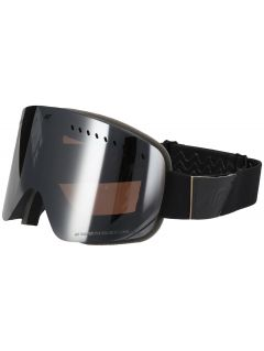 Dámske lyžiarske okuliare GGD150 - čierna