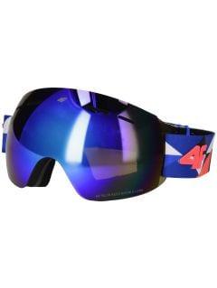 Dámske lyžiarske okuliare GGD250 – kobaltová modrá