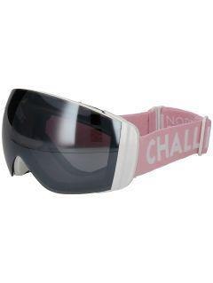 Dámske lyžiarske okuliare GGD251 - svetloružová