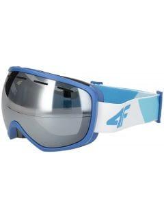 Pánske lyžiarske okuliare GGM250 – tmavomodrá