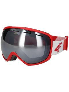 Pánske lyžiarske okuliare GGM250 – červená