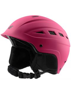 Dámska lyžiarska prilba KSD350 – ružová