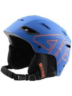 Pánska lyžiarska prilba KSM250 - modrá