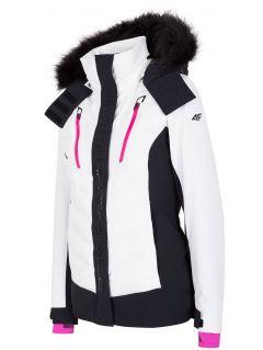 Dámska lyžiarska bunda KUDN161 – biela