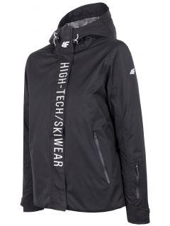 Dámska lyžiarska bunda  KUDN162 - čierna